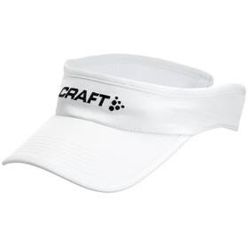 Craft Running Visor White
